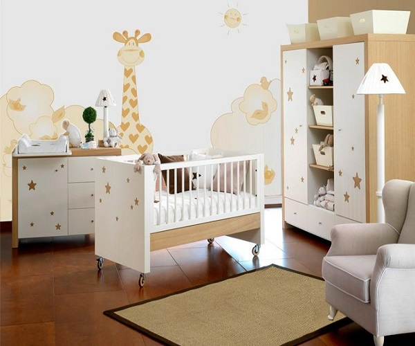 dcoration jungle pour chambre bb garon with dessin pour bb. Black Bedroom Furniture Sets. Home Design Ideas
