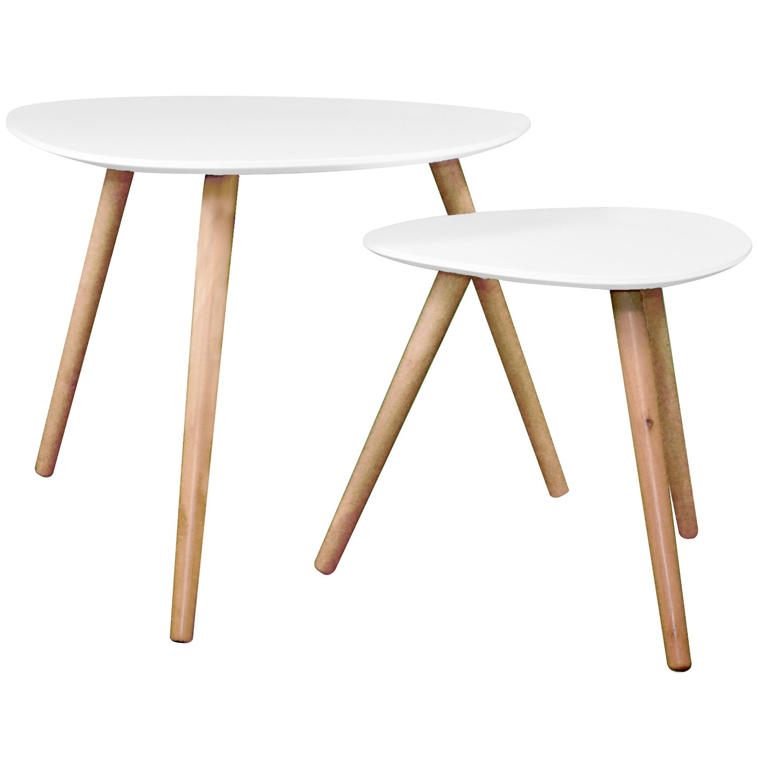 Table basse scandinave de couleur for Table de nuit scandinave