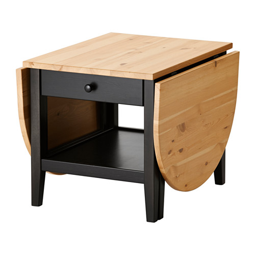 Table basse rabattable en bois