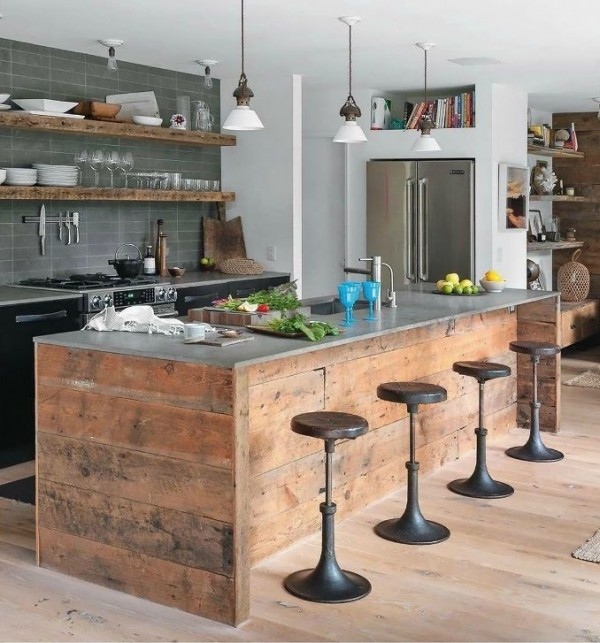 Cuisine Rustique 23 Ides amp Inspirations PHOTOS