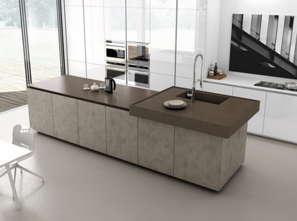 Cuisine avec lot central 43 id es inspirations for Cuisine moderne ilot central