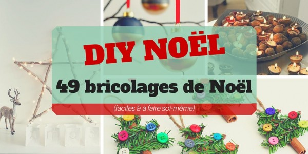 Diy no l 49 bricolages de no l faire soi m me faciles - Sapin de noel original a faire soi meme ...