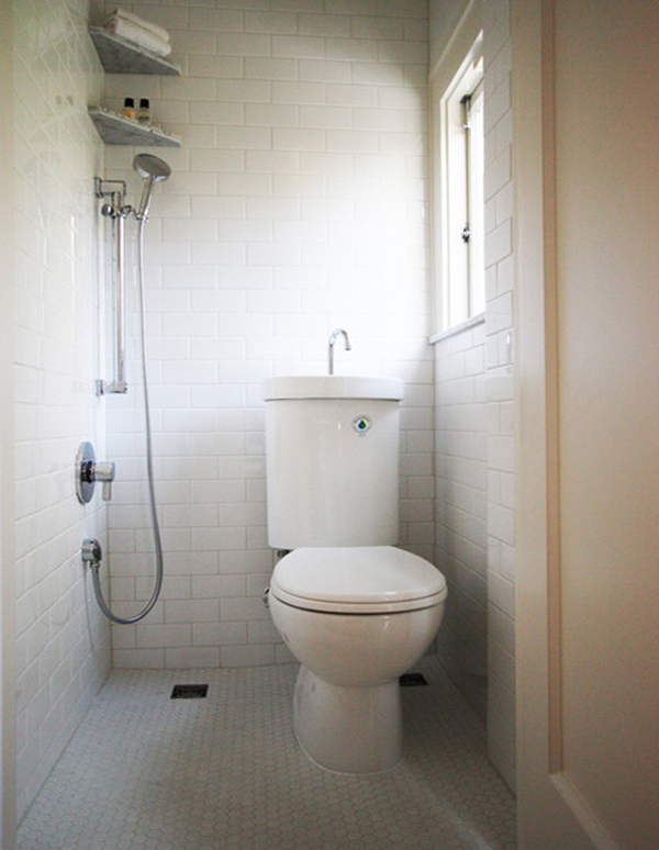 Am nagement petite salle de bain 34 id es copier - Shower suites for small spaces photos ...