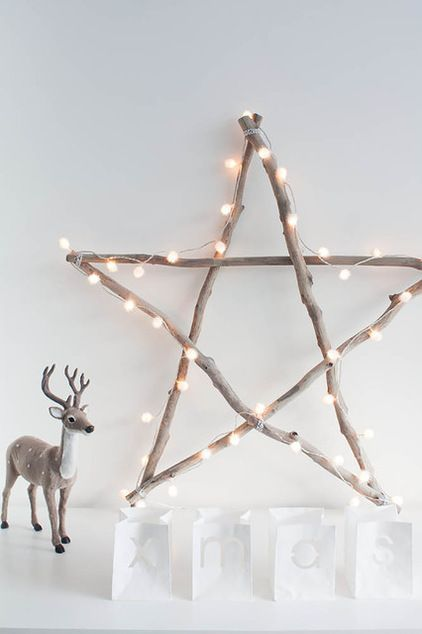 Diy no l 49 bricolages de no l faire soi m me faciles - Decoration de noel lumineuse ...
