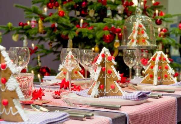 Favori Table de Noël : 22 Idées de Décoration de Table de Noël UO13