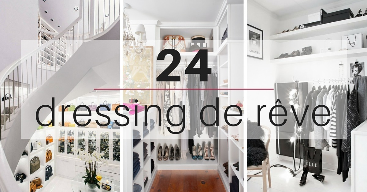 Id e dressing 24 id es copier des dressing les plus luxueux - Idee amenagement dressing ...