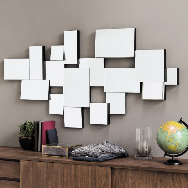 miroir original 71 miroirs d couvrir pour relooker vos murs. Black Bedroom Furniture Sets. Home Design Ideas