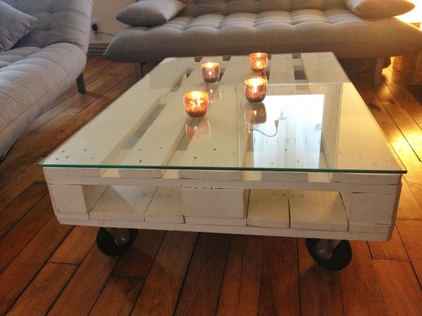 Table basse palette top 69 des id es les plus originales - Table basse alinea bois ...