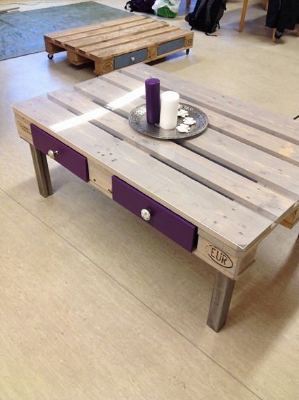 Table basse palette top 69 des id es les plus originales for Table en palette