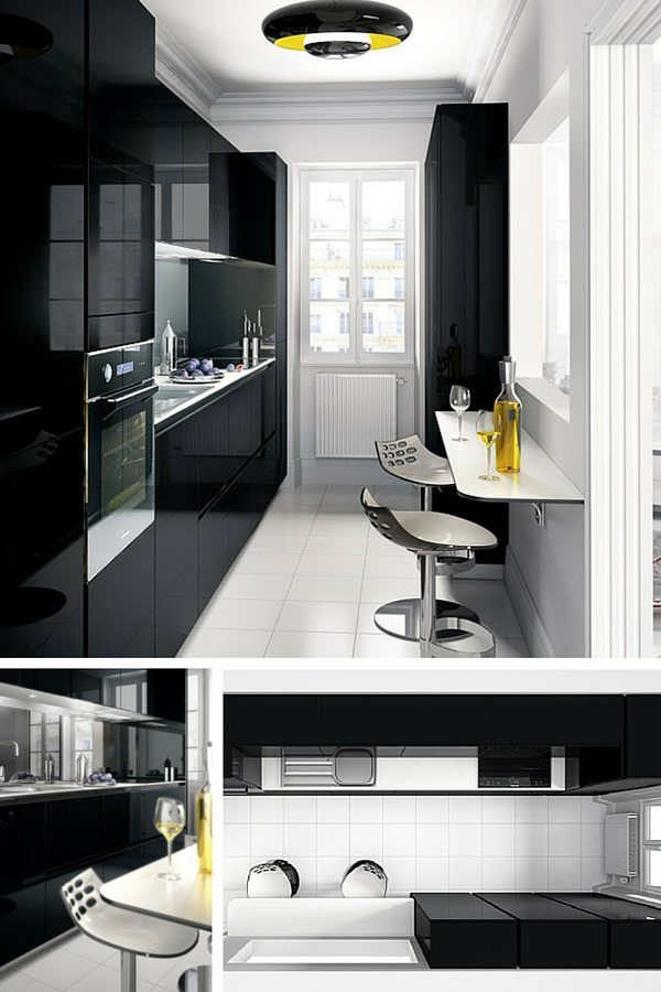 am nagement petite cuisine le guide ultime. Black Bedroom Furniture Sets. Home Design Ideas