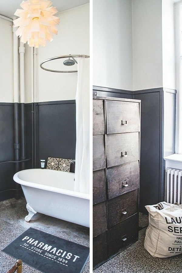 lavabo salle de bain industriel. Black Bedroom Furniture Sets. Home Design Ideas