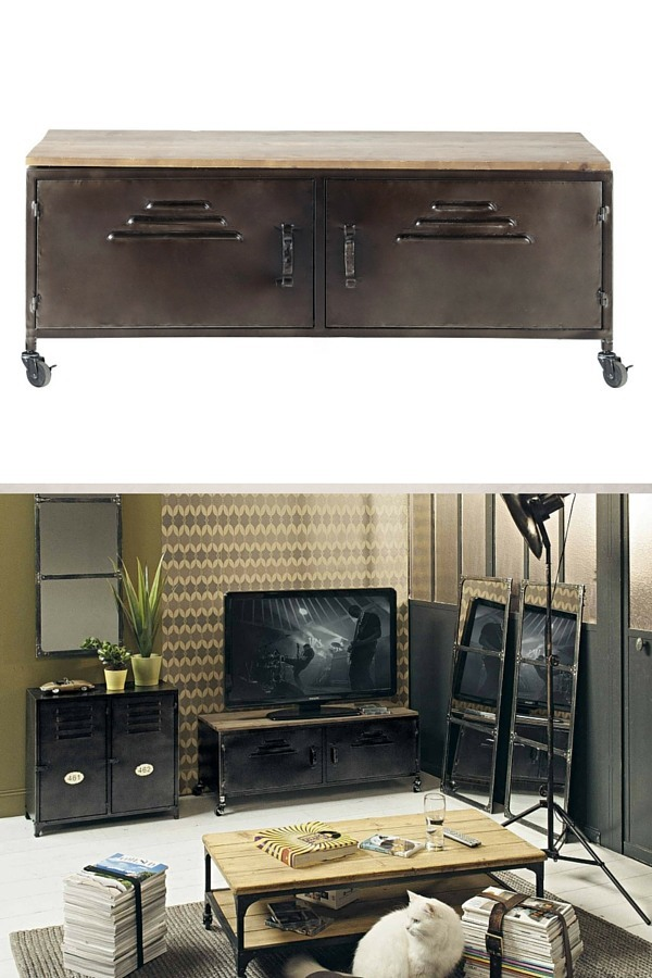 mobilier style industriel pas cher awesome latest meuble de salle bain pas chere bois cher. Black Bedroom Furniture Sets. Home Design Ideas