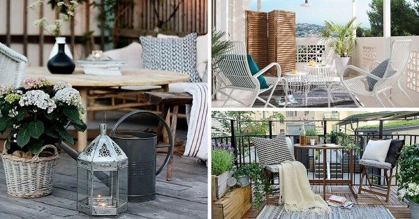 deco am nagement terrasse 24 id es g niales copier. Black Bedroom Furniture Sets. Home Design Ideas