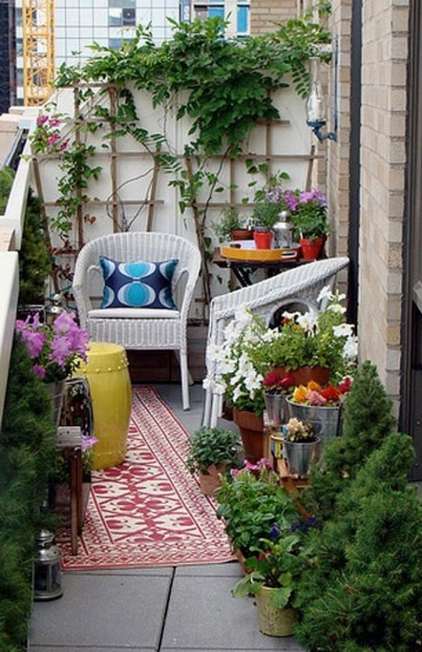 D co terrasse plantes for Idee deco terrasse