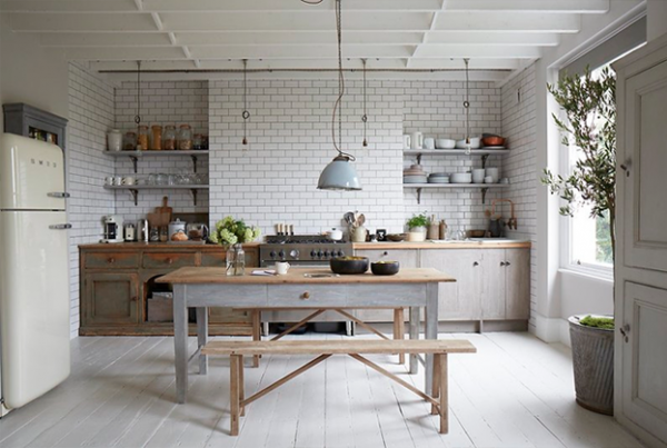 Cuisine campagne chic 9 magnifiques id es de d co for Deco woonkamer idee