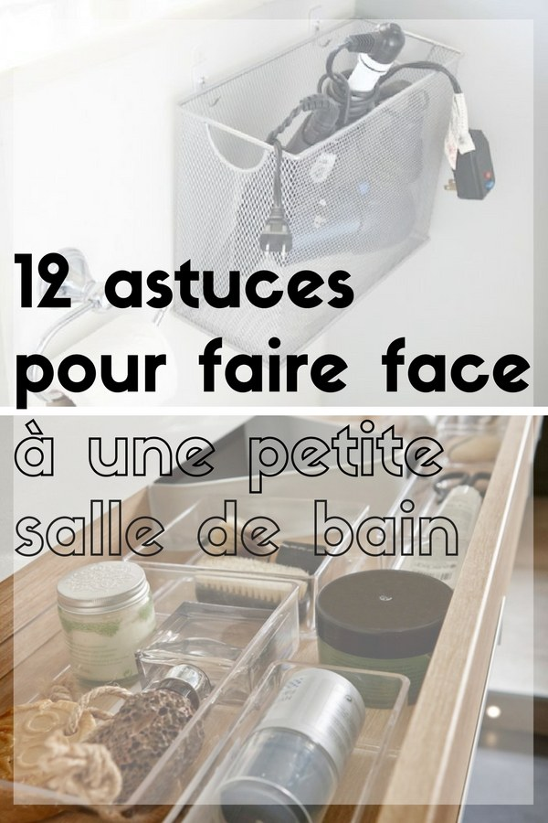 12 astuces pour faire face une petite salle de bain. Black Bedroom Furniture Sets. Home Design Ideas