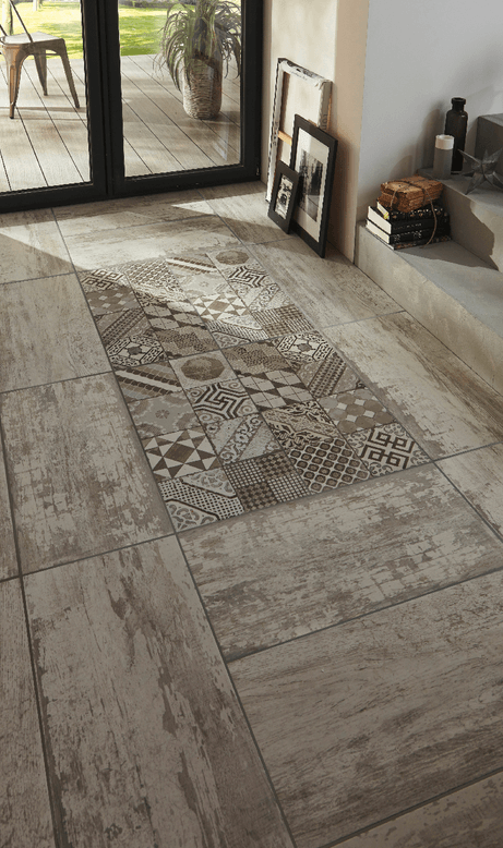 Carrelage imitation carreaux de ciment 7 id es tendance - Carrelage imitation ciment ...