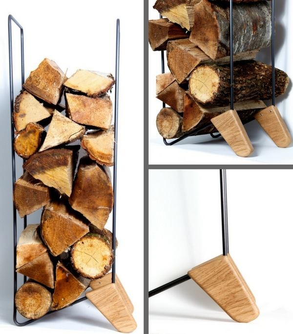 Range-bûches design Woodstack