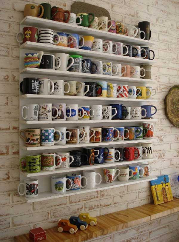 porte tasses porte mugs 17 id es originales copier. Black Bedroom Furniture Sets. Home Design Ideas