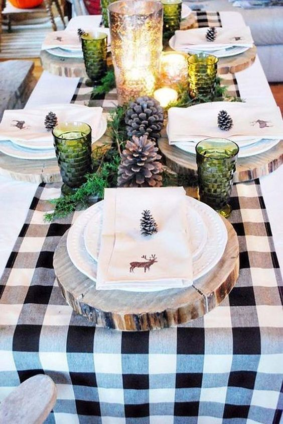 Top500 d co de no l fabriquer et faire soi m me for Decor table de noel