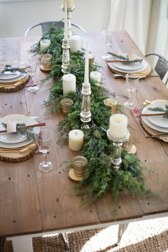 Idees Deco Table Noel. Perfect Ide Dco Table Nol With Idees Deco ...