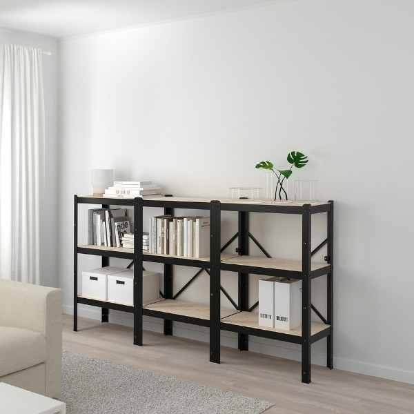 voici les rangements les plus costauds de chez ikea catalogue 2019. Black Bedroom Furniture Sets. Home Design Ideas